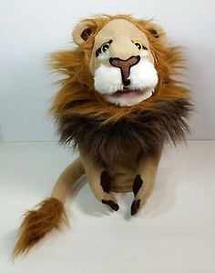 Melissa & Doug Rory The Lion Hand Puppet Plush Toy
