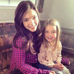 Daughters of Lou's; Georgie and Katie (Julia Baker). #Heartland #SistersForever