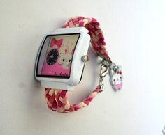Fashion Watch Colorful Women Watch Hand Crafted Leather by PIYOYO, $29.99