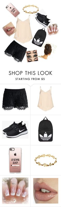 """""""fashion"""" by natalia-lopez289 ❤ liked on Polyvore featuring Chicwish, Alice + Olivia, NIKE, Topshop and Casetify"""