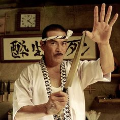 Interview with Sonny Chiba (Kill Bill, Golgo 13, Street Fighter), legendary Japanese actor who appears as the mysterious sushi chef in the new film Sushi Girl (November 2012).