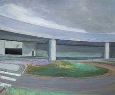 "Saatchi Art Artist Wojtek Herman; Painting, ""Roundabout II"" #art"