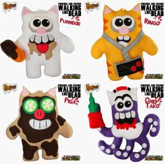 """Zombob's Zombie News and Reviews: Walking Like Dead"""" Purridge and Friends Collection..."""