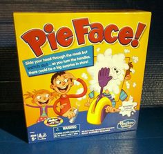 Hasbro Pie Face Showdown Family Game Fun Holiday Splat In The Face Kids Children #Hasbro