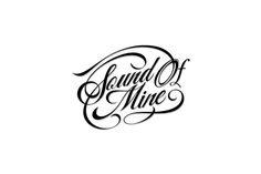 Sound Of Mine Logotype by Athur Sinai, via Behance
