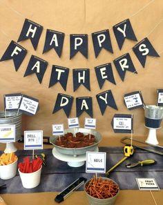 Veja lindas dicas de decoração para o Dia dos Pais com balões, gravatas, caixas, mesas e muito mais. Confira!