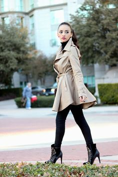 The trench coat (by Mayte Doll) http://lookbook.nu/look/4394981-The-trench-coat