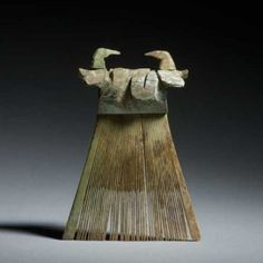 Ancient chinese combs are made of a number of materials, such as ivory, silver…