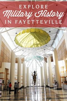 Plan your trip to the Fayetteville area in North Carolina to explore military history and memorabilia at Fort Bragg, the Airborne & Special Operations Museum and the North Carolina Veterans Park.
