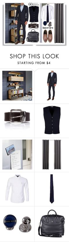 """""""60 Second Style"""" by zeeandcoltd ❤ liked on Polyvore featuring West Elm, John Smedley, Emmeline Simpson, Polo Ralph Lauren, Vivienne Westwood, Barbour, men's fashion and menswear"""