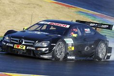 Robert Kubica, Mercedes, DTM, Valencia, 2013r.