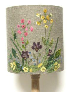 Spring Flowers - Wildflower lampshade