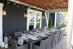 The Fat Hydrangea: Parade of Homes 2013 - Restoration Hardware House .. love the gray outside too