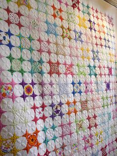 Periwinkle Confetti by Heather Watts (quilted by Nic Bridges)