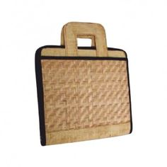 Conference Bag with enough space made from Bamboo Jute and Jute Lining