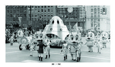 1969. Detroit Thanksgiving Day Parade.