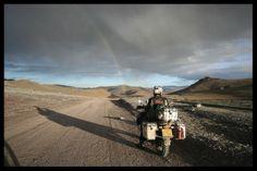 Gobi desert, Mongolia.  On Bmw 1200Gs Adventure.  Wild.