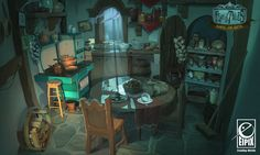 Fearful Tales - Kitchen by NJA3D ★ || CHARACTER DESIGN REFERENCES (www.facebook.com/CharacterDesignReferences & pinterest.com/characterdesigh) • Love Character Design? Join the Character Design Challenge (link→ www.facebook.com/groups/CharacterDesignChallenge) Share your unique vision of a theme every month, promote your art and make new friends in a community of over 25.000 artists! || ★