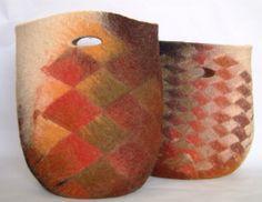 Anat Gelbard- handmade felt bags
