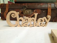 Charley made with fretsaw