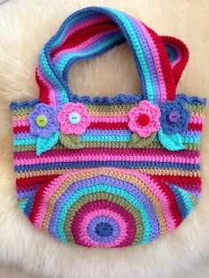 Look What Ive Made - Projects - Crochet - Jolly chunky bag