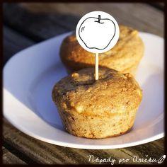 Tyhle muffiny dělám v zimě často, hodí se na to totiž stará jablka. Pro změnu měním náplň Cupcakes, Kefir, French Toast, Cheese, Cookies, Breakfast, Food, Basket, Fairy Cakes
