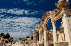 Private Full-Day Shore Excursion from Kusadasi: Private Ancient Ephesus, Virgin Mary, Basilica of St. John  Explore Ephesus, the best-preserved ancient city in Turkey, on this shore excursion from Kusadasi. A commercial, religious and social center during ancient Greek and Roman times, Ephesus is full of spectacular ruins. While your ship waits in the Kusadasi port, you can discover ancient sights like the Fountains of Trajan, the Temple of Hadrian, the Library of Celsius and ...