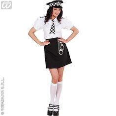 Disfraz de Policia Britanica Mujer #disfraces #carnaval