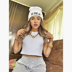 amanda pontes Swag Outfits, Sport Outfits, Casual Outfits, Hip Hop Fashion, Girl Fashion, Fashion Outfits, Cute Emo Girls, Girl Swag, Power Girl