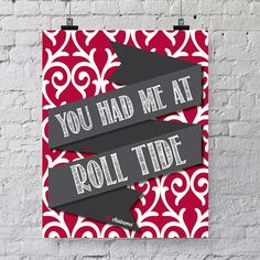 Make one of these in Marion and white (: Alabama Crafts, Alabama Decor, Sweet Home Alabama, Alabama Bedroom, Alabama Baby, Ole Miss Football, Alabama Football, Oxford Mississippi, Ole Miss Rebels
