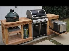(257) Grill Like A Champion: How to Build an Outdoor Kitchen Island - YouTube