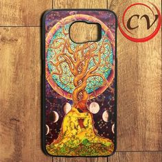 Colorful Painting Tree Of Life Samsung Galaxy S6 Edge Plus Case