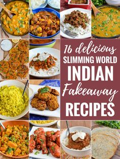 16 Delicious Slimming World Friendly Indian Fakeaway Night recipes - create some of your favourite Indian dishes at home.