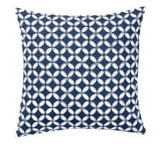 Audrey Eyelet Applique Pillow Cover #potterybarn For the living room couch