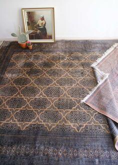 Prachtig handgeknoopt Oosters kleed. Groot wollen Perzisch tapijt, Bokhara/Bochara
