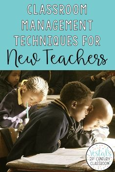 Here are the most important classroom management techniques for new teachers! By implementing these classroom management strategies, your life as a first-year teacher will be much easier.  #vestals21stcenturyclassroom  #classroommanagement  #classroommanagementelementary  #classroommanagementstrategies  #newteachers via @vestalsclassroom