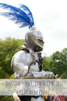 The castle of le Rivau welcomes you for its jousting tournament July, and July Holidays, France, Middle Ages, Knights, Garden Sculpture, Medieval, Castle, Horses, Activities
