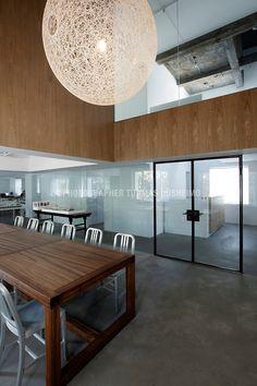 Design Republic showrooom and NHDRO design office interiors in Shanghai, China.
