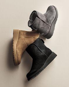 Knee High Wedge Boots, Wedge Heels, Summer Wear, Sock Shoes, Suede Boots, Neiman Marcus, Uggs, Luxury Fashion, Socks