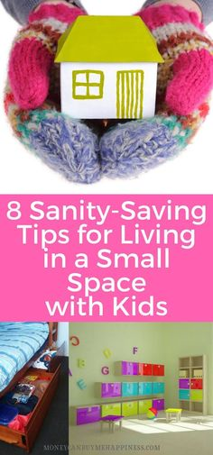 Thinking about downsizing with kids? Here are my top tips for living in a small space with kids and not going crazy!