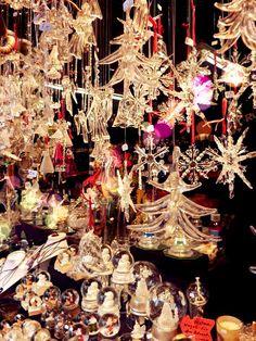 Glass ornaments for Christmas, Krismas Makrt Germany