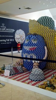 CANstruction.org (feeding the food insecure)