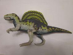 Jurassic Park Lost World Electronic Spinosaurus  Dinosaur JP Site B 39 #Kenner