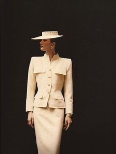 Yves Saint Laurent june 1986 Harper's & Queen june 1986 photo David Seidner