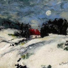 Moy McKay  I do have her book, but to seeing her felted work in reality, is wonderful