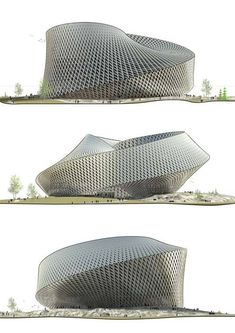 BIG Architects Unveil Massive Mobius Strip Library for Kazakhstan