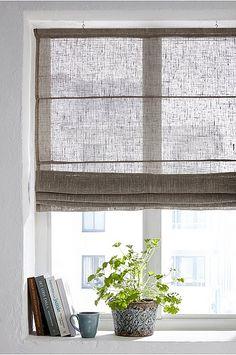 Ellos Home Liftgardin Linvoile - Natur - Tekstiler - Homeroom. Design Furniture, Plywood Furniture, Modern Outdoor Kitchen, Interior Decorating, Interior Design, Design Design, Paint Colors For Living Room, Curtains With Blinds, Roll Up Curtains
