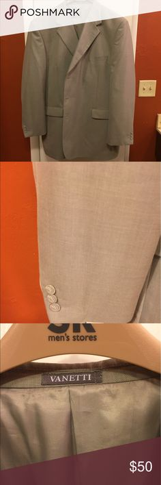 Grey man's suit. 46L Grey suit 46L vanetti Suits & Blazers Suits