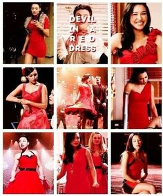 i just started singing devil with a red dress looking at the photos lol!!