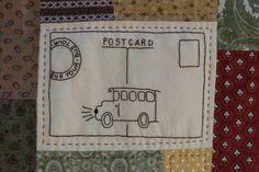 Bus postcard